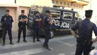 Аресты в Мадриде