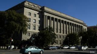 Здание министерства торговли США