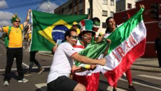 هواداران ایرانی فوتبال در برزیل