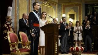 स्पेन के नए राजा फेलिप षष्टम