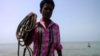 गुजरात का मछुआरा