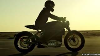 Электроцикл Harley Davidson