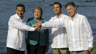 Presidentes de la Alianza del Pacífico