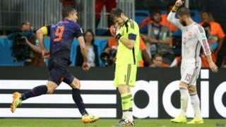 Holanda vence Espanha por 5 a 1 | Crédito: Getty