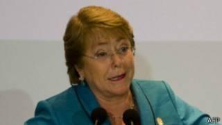 Shugabar Chile Michelle Bachelet
