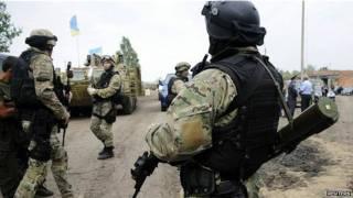 قوات أوكرانية في شرق البلاد لمواجهة الانفصاليين