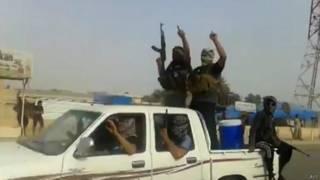 Guerrilheiros da Isis (AFP)