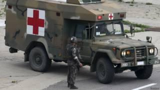 Корейская машина скорой помощи
