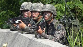 Soldados surcoreanos