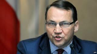 Министр Радек Сикорский