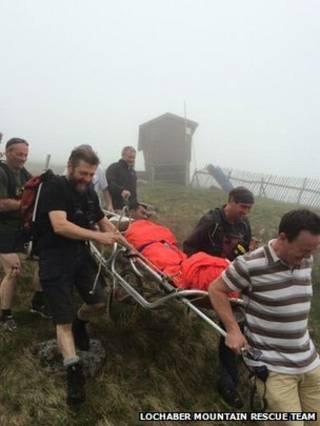 Foto: Lochaber Mountain Rescue Team