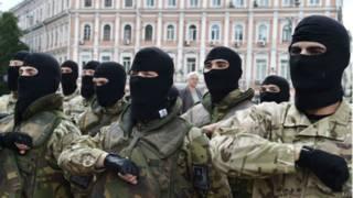 Украинские добровольцы