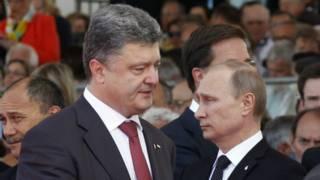 Порошенко та Путин
