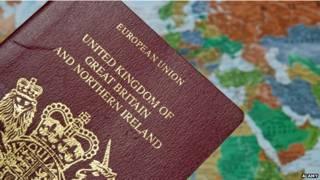ब्रितानी पासपोर्ट