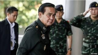 थाईलैंड, सैन्य शासक, जनरल प्रयुथ