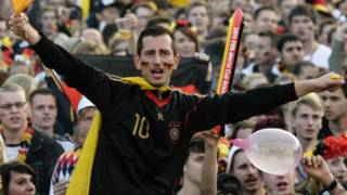 जर्मनी का एक फ़ुटबॉल फ़ैन