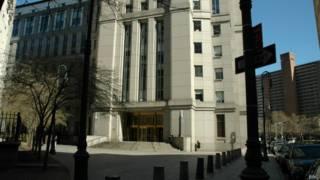 Здание федерального суда в Нью-Йорке