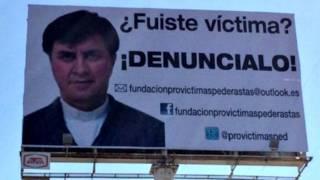 Sacerdote Eduardo Córdova Bautista, acusado por las autoridades mexicanas de abuso sexual a menores