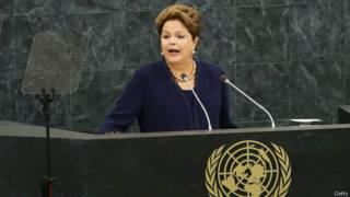 Dilma fala na ONU - Getty Images
