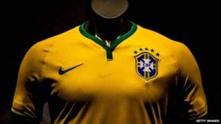 قميص البرازيل الأصفر