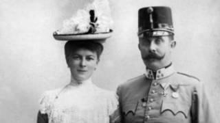 Prince Franz Ferdinand na mkewe