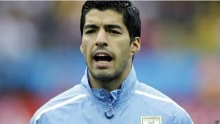 Suárez, atacante do Uruguai / Crédito da foto: AFP