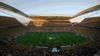 Arena Corinthians (foto: Reuters)