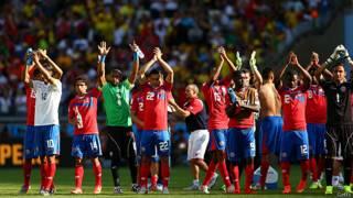 La selección de Costa Rica