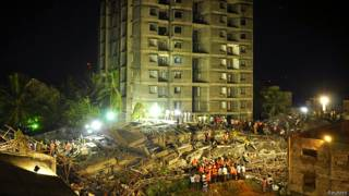 चेन्नई में निर्माणाधीन इमारत जो 28 जून की शाम को ढह गई.