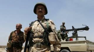 Soldado en Tikrit, Irak