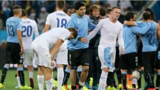 英格蘭對烏拉圭
