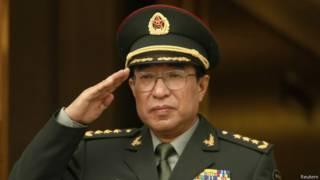 генерал Сюй Цайхоу в ходе визита в Вашингтон в 2009 г.