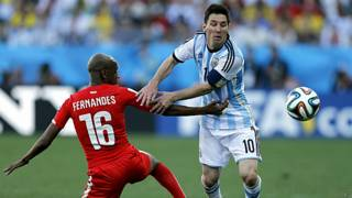 आर्जन्टीनियाई फ़ुटबॉल खिलाड़ी लियोनेल मेसी