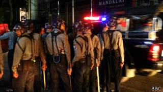 Mandalay Unrest