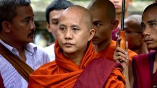 बर्मा के विवादास्पद बौद्ध भिक्षु विराथू