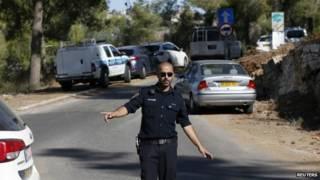 Polícia israelense (Reuters)