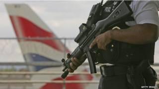 अमरीका, सुरक्षा व्यवस्था