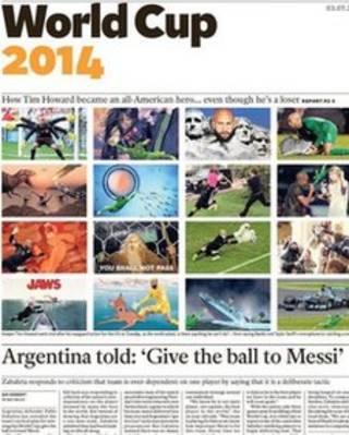 阿根廷的战术:把球传给梅西