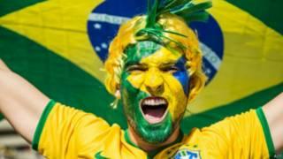 Torcedor brasileiro (AFP)