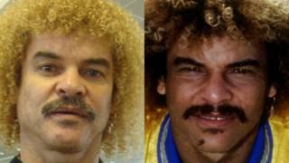 Carlos Valderrama, ex-jogador de futebol colombiano | Crédito: Montagem/BBC Brasil