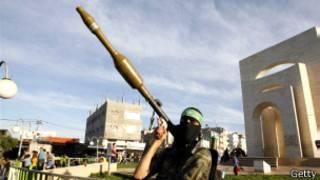Isiraheli ivuga ko ibisasu bya Hamas bigwa ku butaka bwayo