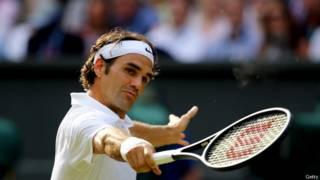 टेनिस खिलाड़ी रोजर फ़ेडरर