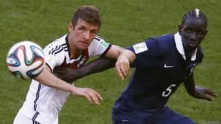 Матч Германия-Франция