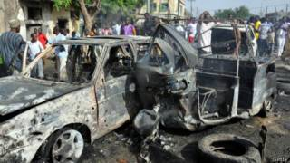 Ataque de Boko Haram en Borno