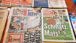 jornais alemães | Marcelo Crescenti