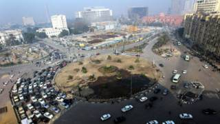 Magari katika Medani Tahrir mjini Cairo