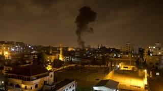 इसराइल के हवाई हमले