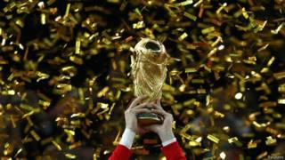 Taça da Copa do Mundo (Reuters)