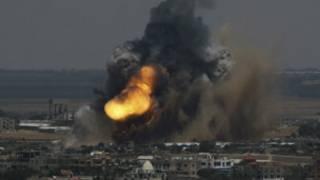 Israel yateye ibibanza ijana muri Gaza mw'ijoro ryakeye