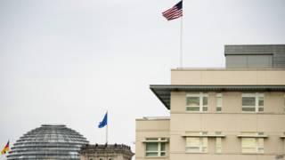 Здание посольства США в Берлине